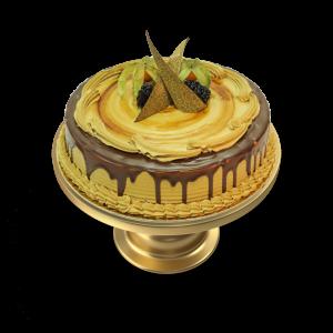 Chocolate Mocha Cream Cake